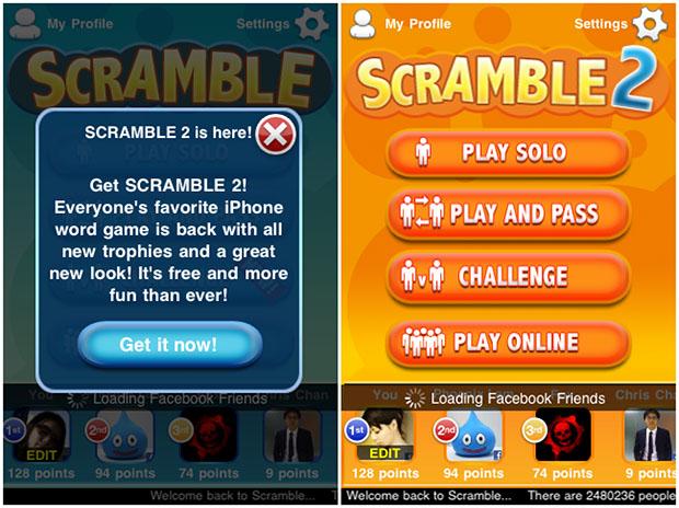 Word scramble 2