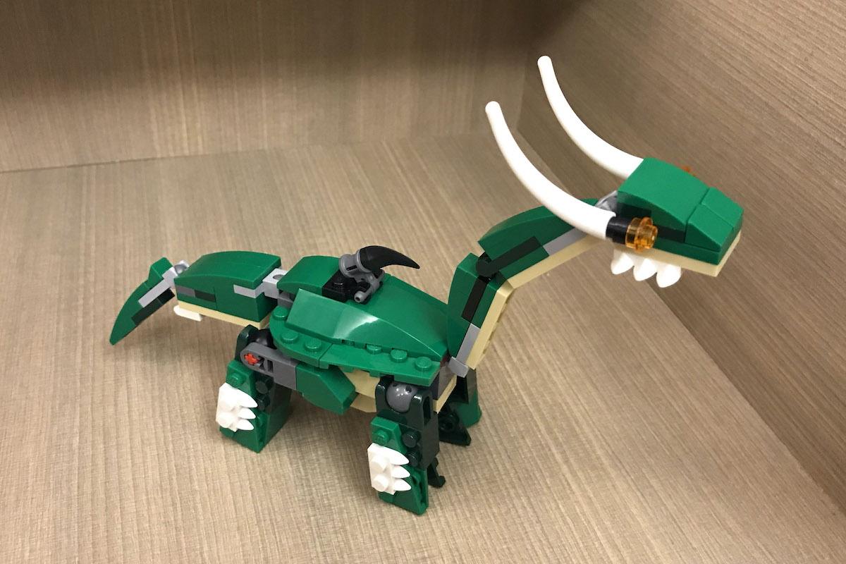 LEGO恐龍31058的七種砌法