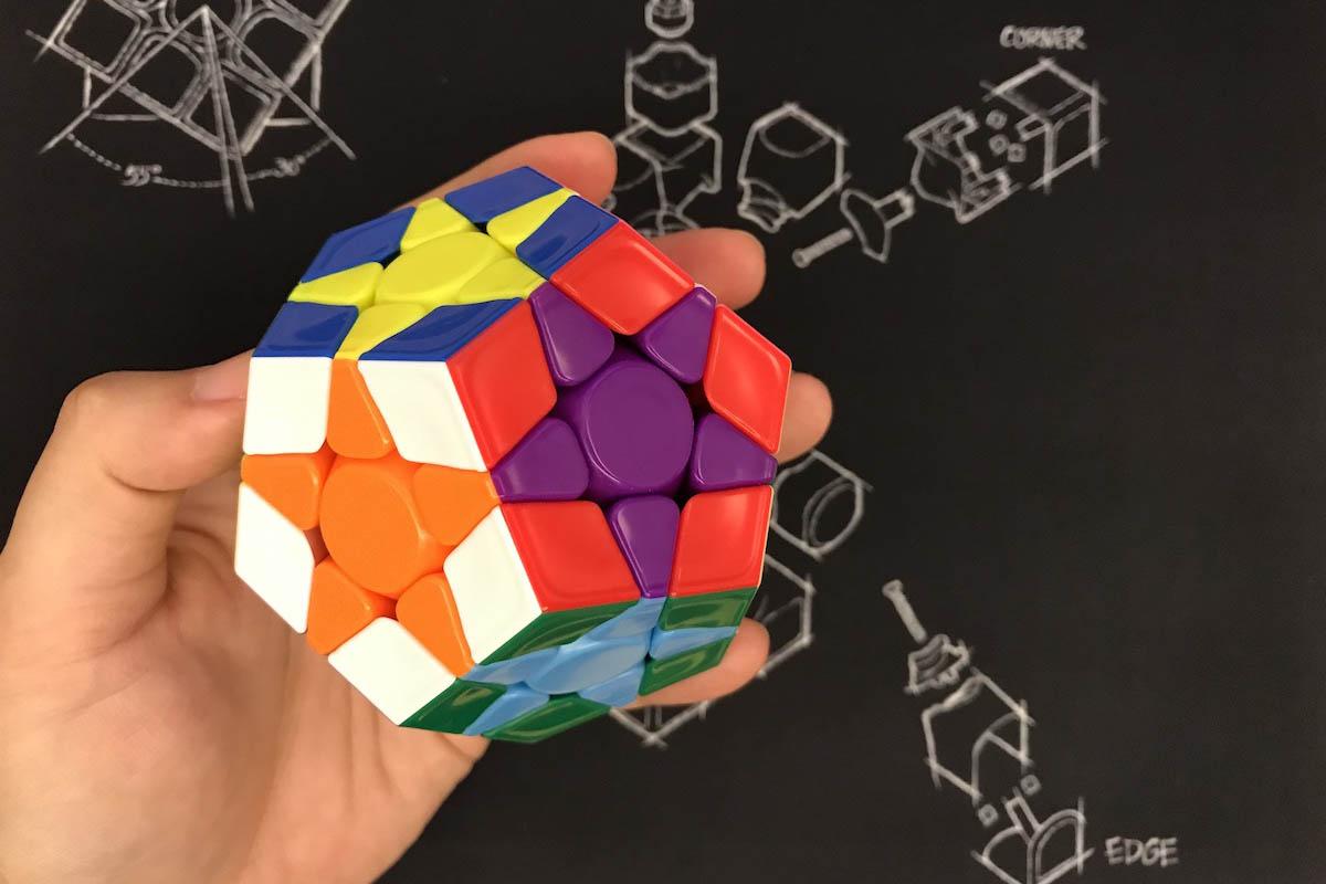 五魔方Megaminx的12星圖案