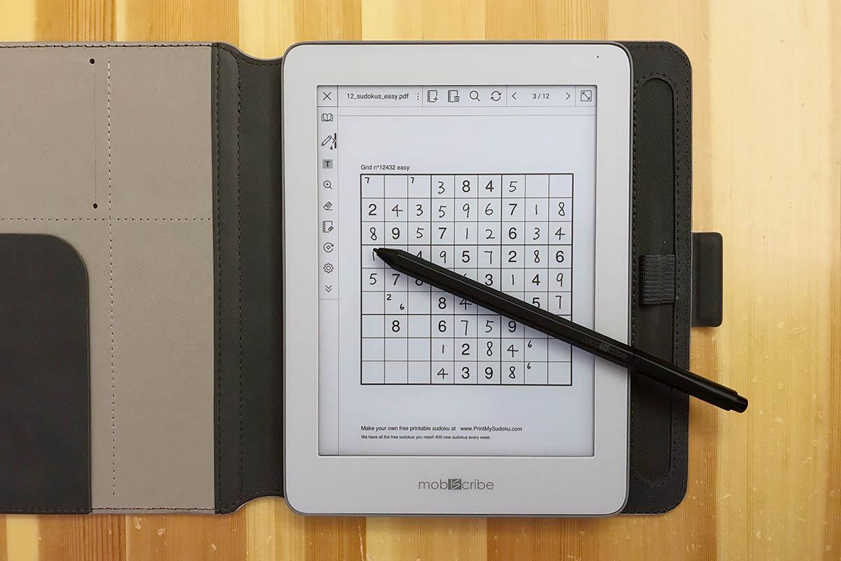 電紙筆玩Sudoku
